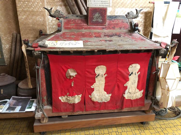 蒐集館展示の霊柩車